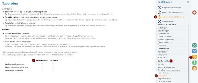 Screenshot Tabbladen verbergen (1)