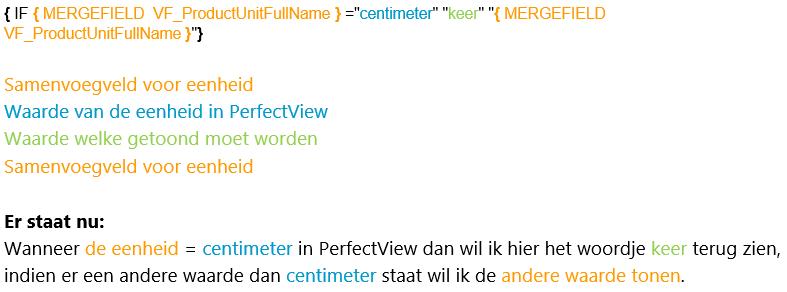 IF constructie